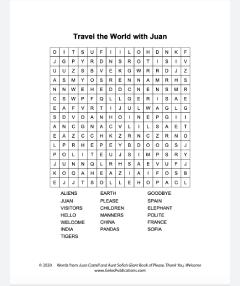 Juan Castell Word Search Hard
